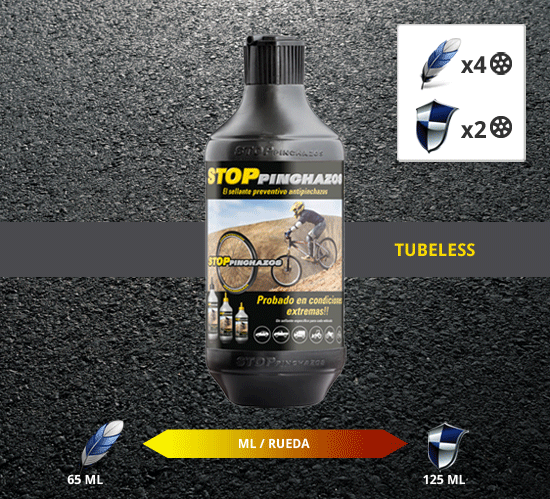 antipinchazos mtb tubeless Líquido Antipinchazos Quad tubeless 1000ml