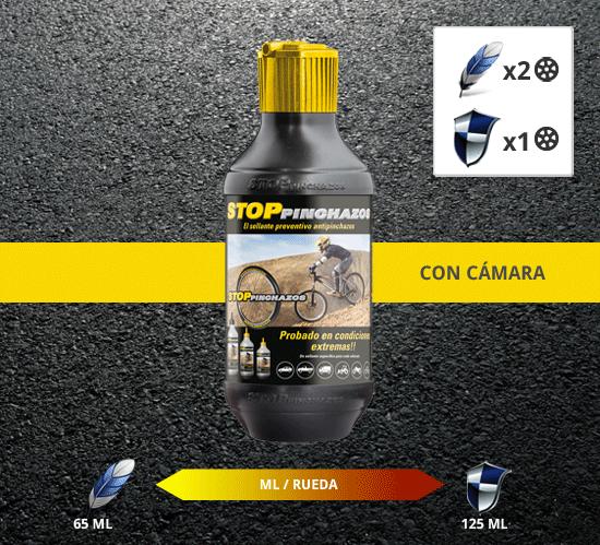 antipinchazos bici camara Líquido Antipinchazos Coche y 4x4 2x1000ml