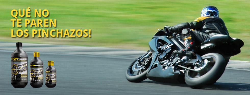 Liquido antipinchazos para Motocicletas