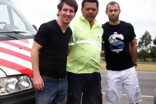 pinchazo messi El pinchazo de Messi y Mascherano