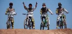 DSC 0198 300x142 Stop Pinchazos realiza presentación oficial de líquido antipinchazos Moto y Bici