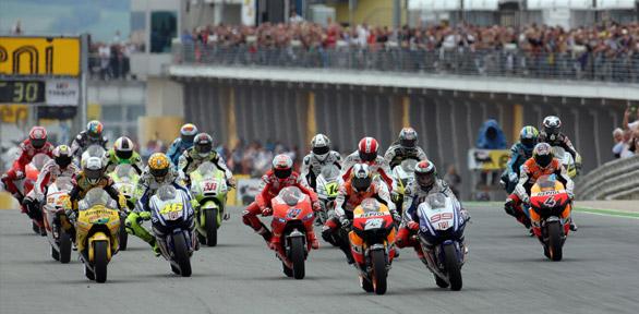 2010 MotoGP grid ¡Un duelo histórico de MotoGP!