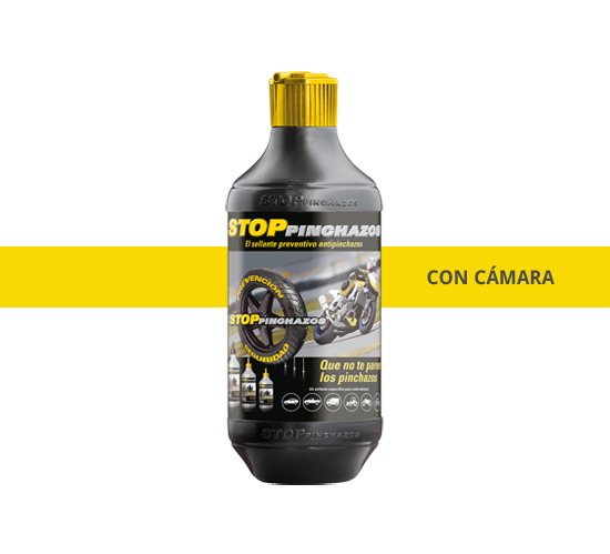 antipinchazos quad camara Liquido recambio Kit Repara Pinchazos 500ml