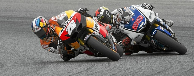 ¡Un duelo histórico de MotoGP!